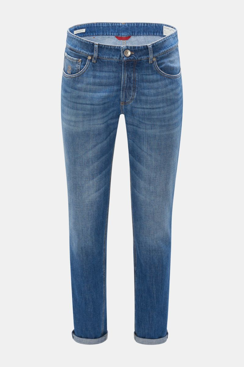 Jeans 'Traditional Fit' graublau