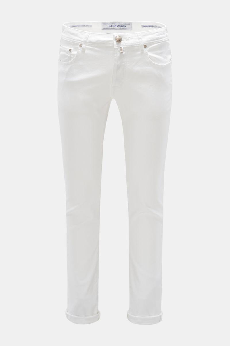 Jeans 'J688 Comfort Slim Fit' weiß