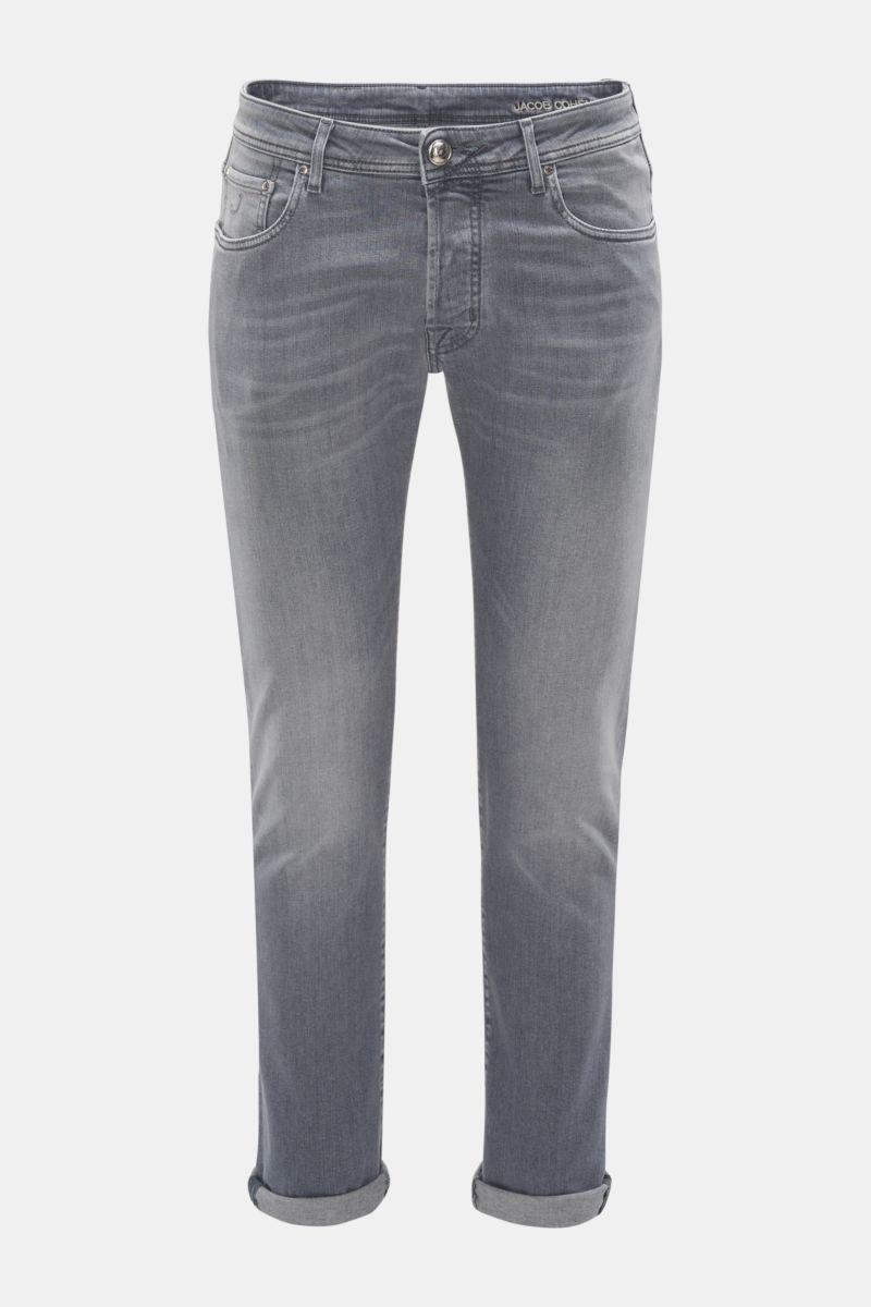 Jeans 'J688 Comfort Slim Fit' grau