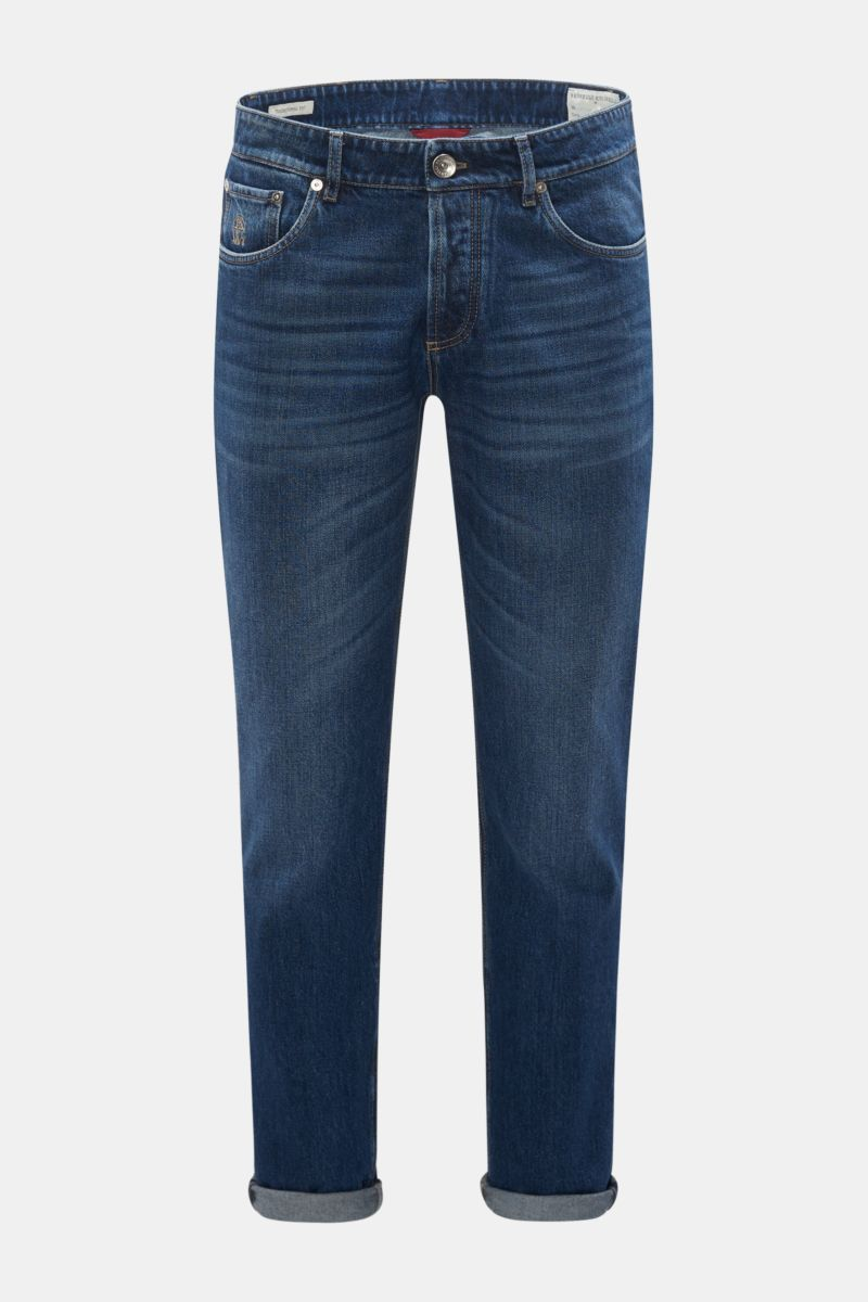 Jeans 'Traditional Fit' dunkelblau