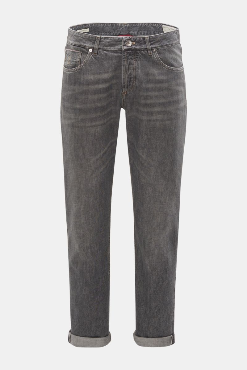 Jeans 'Traditional Fit' grau