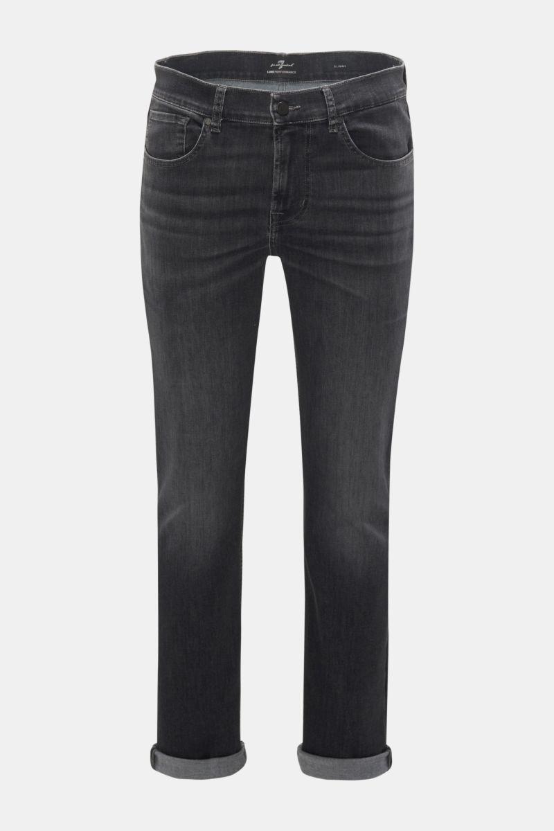 Jeans 'Slimmy' anthrazit