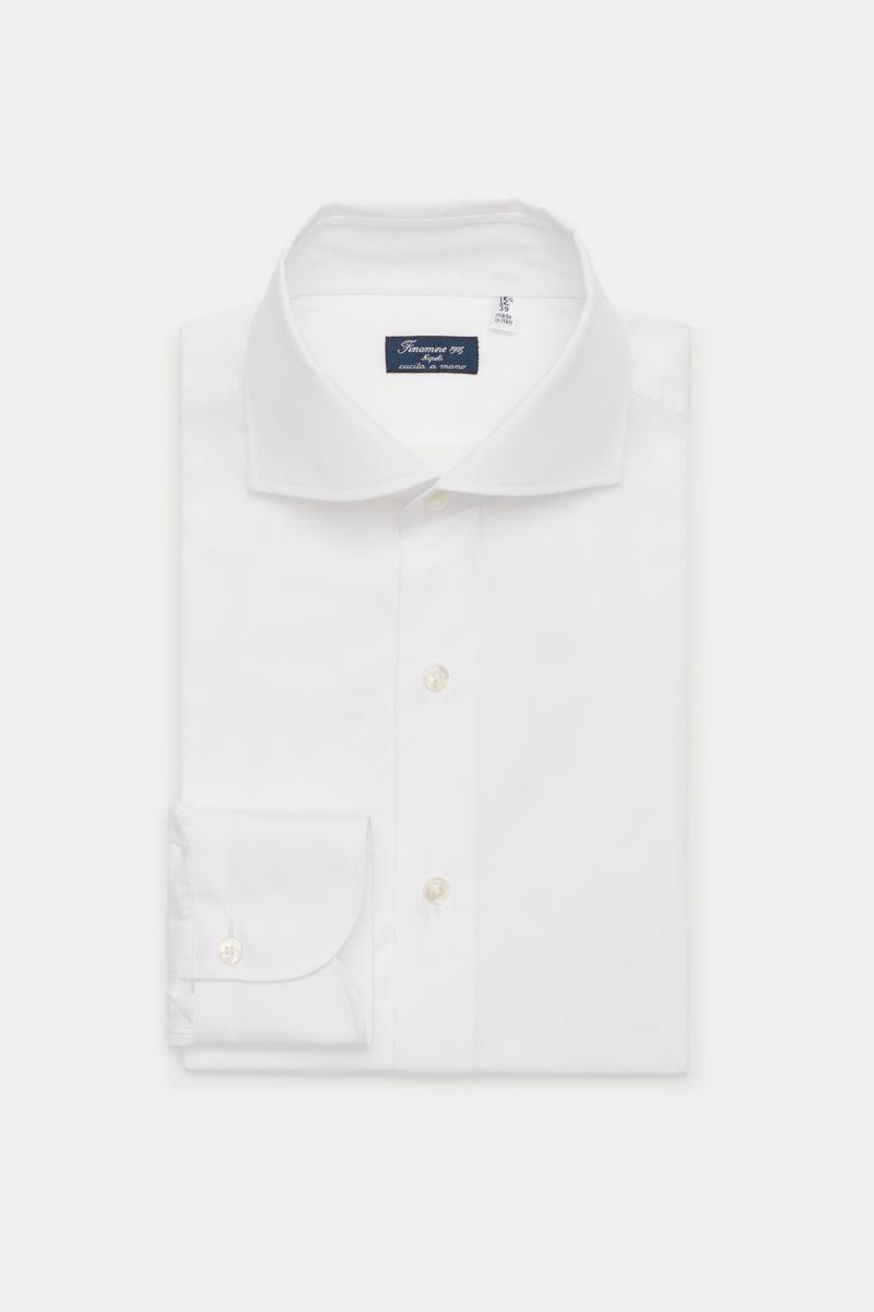 Business Hemd 'Eduardo Napoli' Haifisch-Kragen weiß