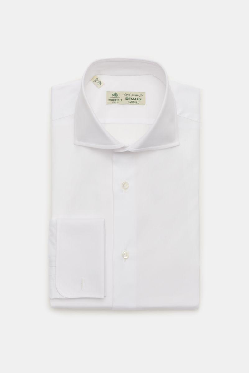 Business Hemd 'Nando' Haifisch-Kragen weiß