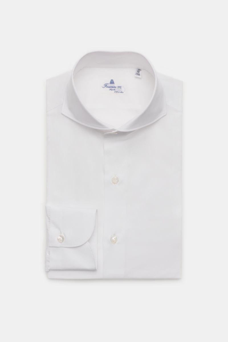 Business Hemd 'Sergio Milano' Haifisch-Kragen weiß