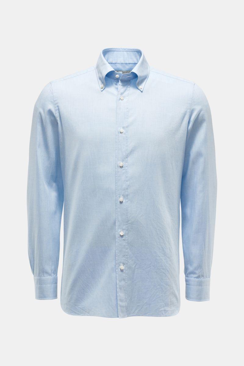 Casual Hemd 'Gable' Button-Down-Kragen hellblau