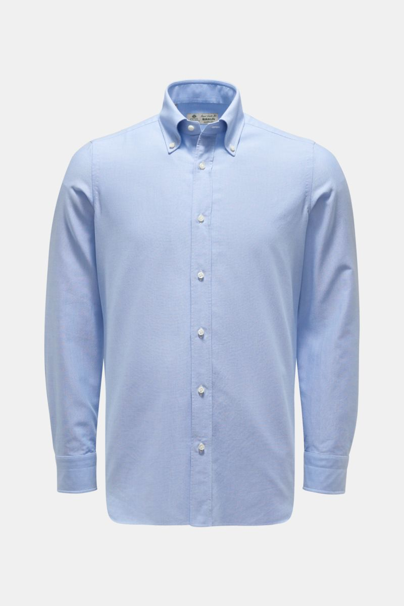 Casual Hemd 'Gable' Button-Down-Kragen hellblau