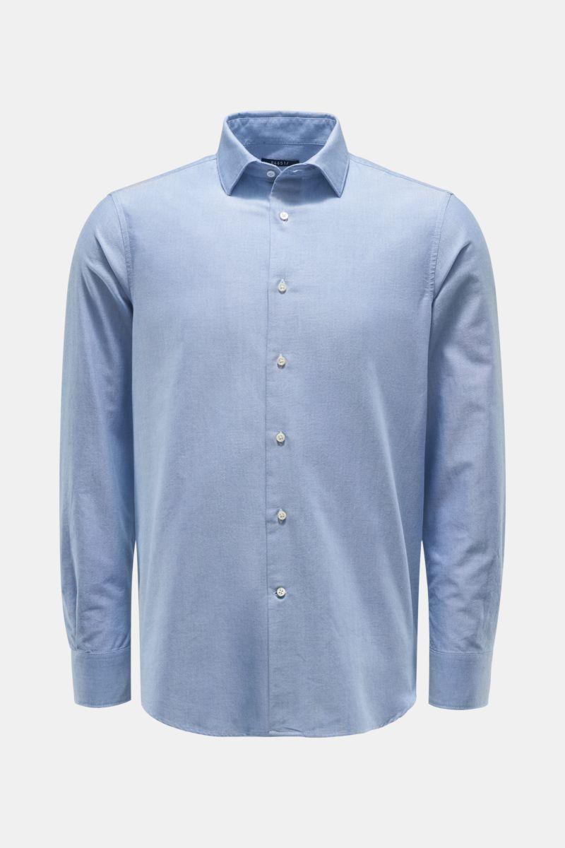 Oxford-Hemd Kent-Kragen hellblau