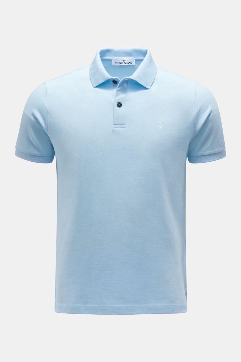 Poloshirt pastellblau