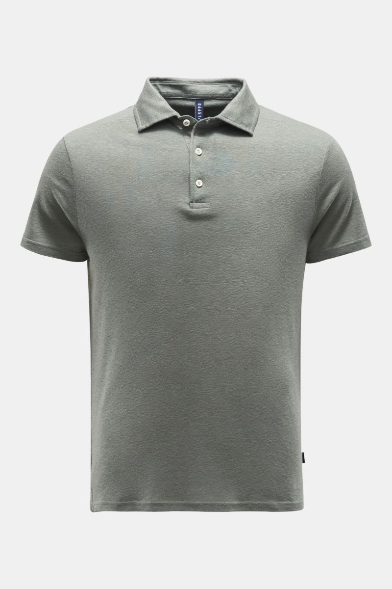 Poloshirt graugrün