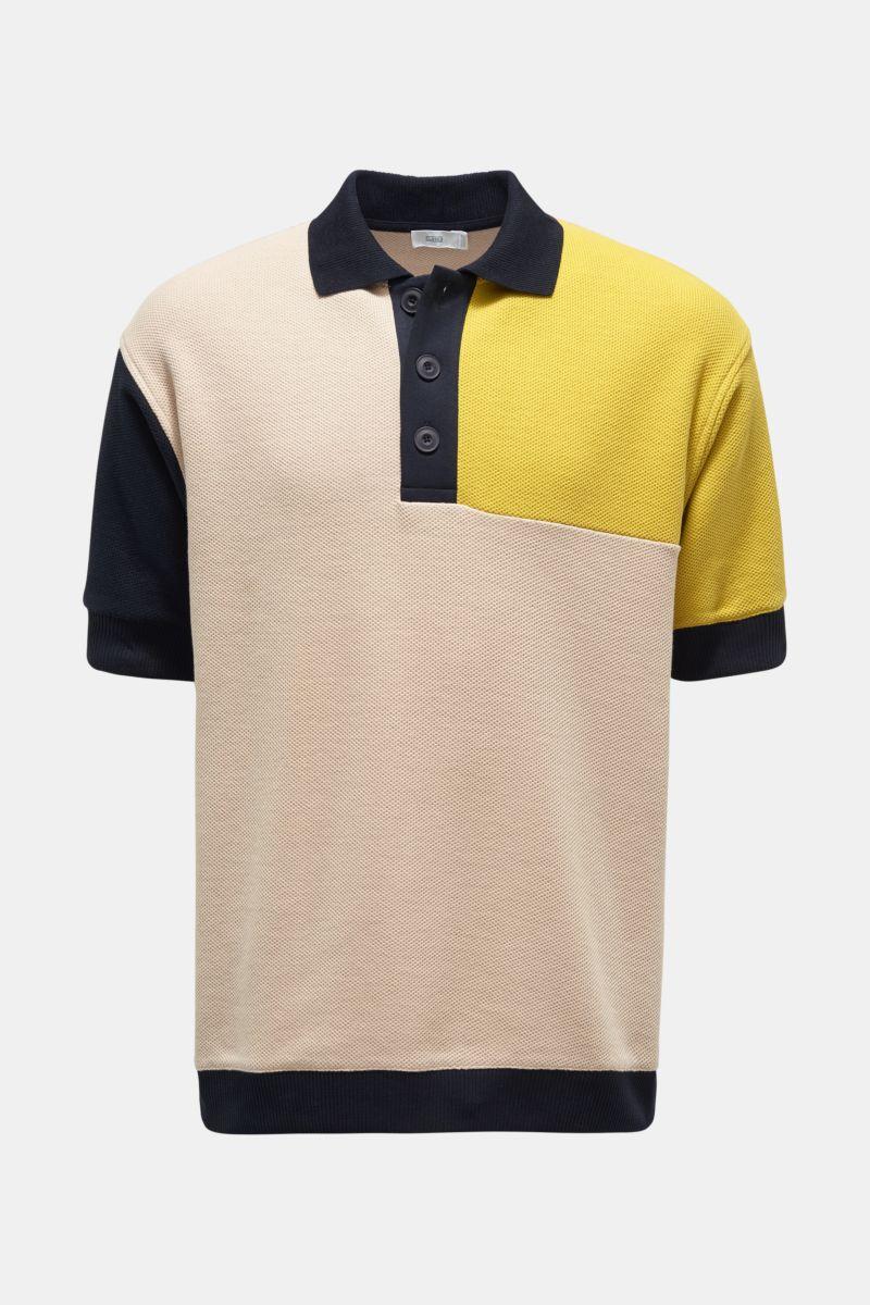 Poloshirt beige/navy