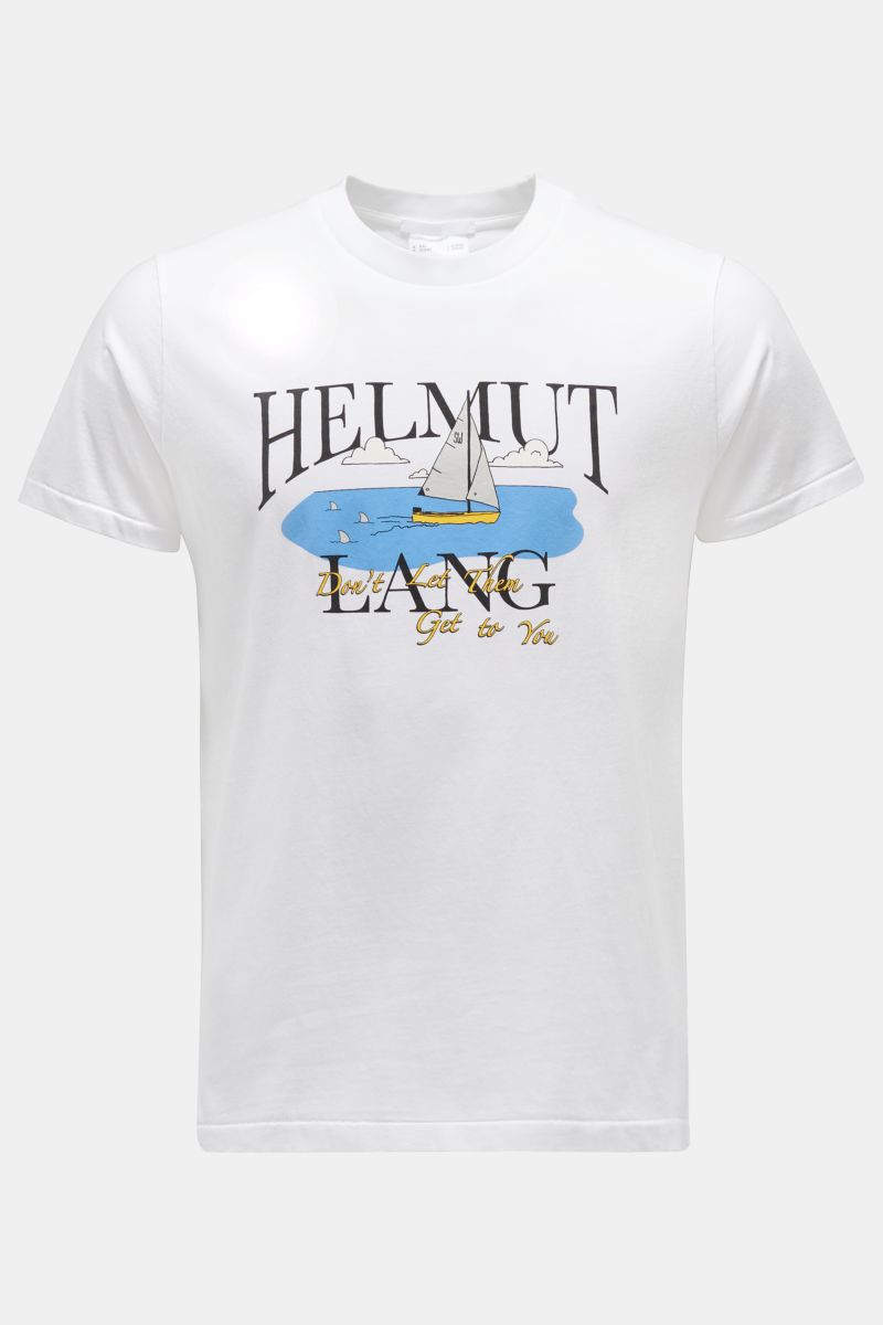 Rundhals-T-Shirt 'HL Ocean Tee' weiß