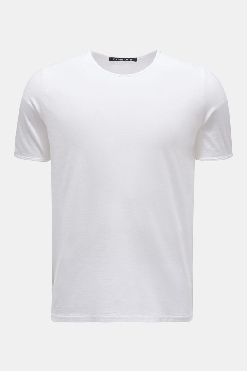 Rundhals-T-Shirt 'mo35dro.215' weiß