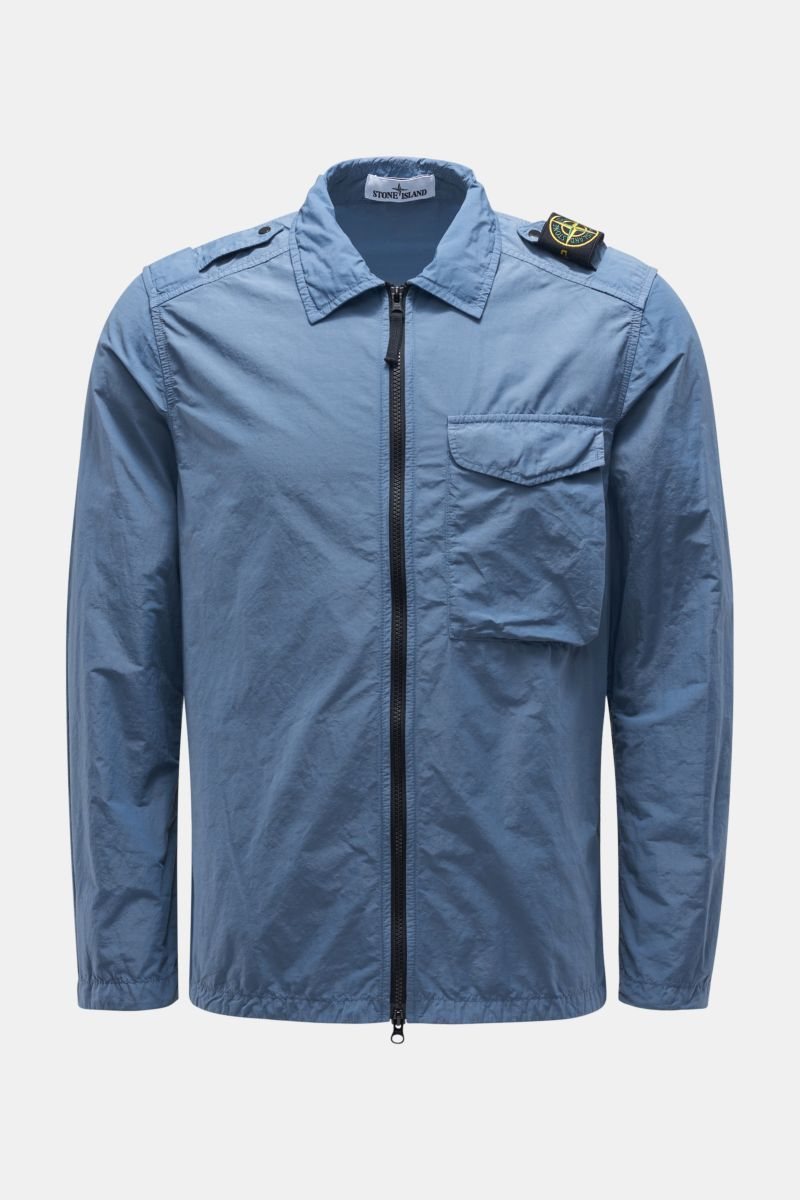 Overshirt 'Naslan Light' graublau