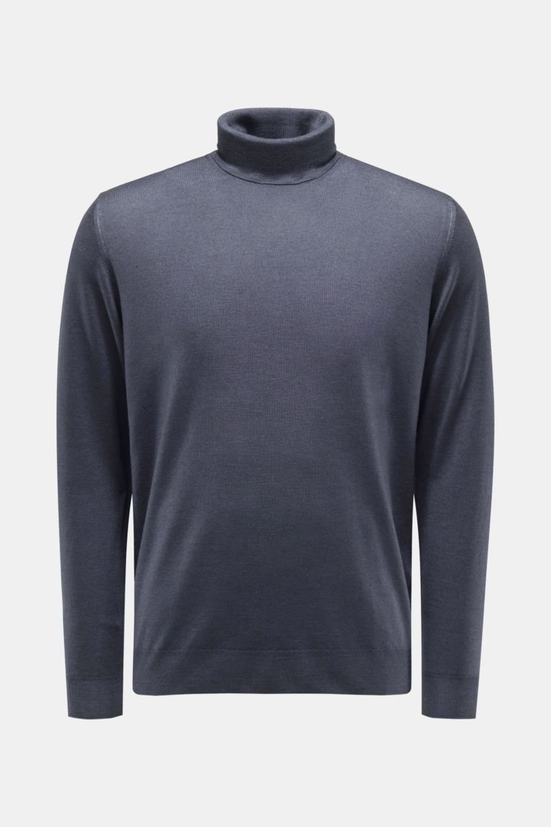 Fedeli Herren 01Cprbrown Braun Wolle Sweater