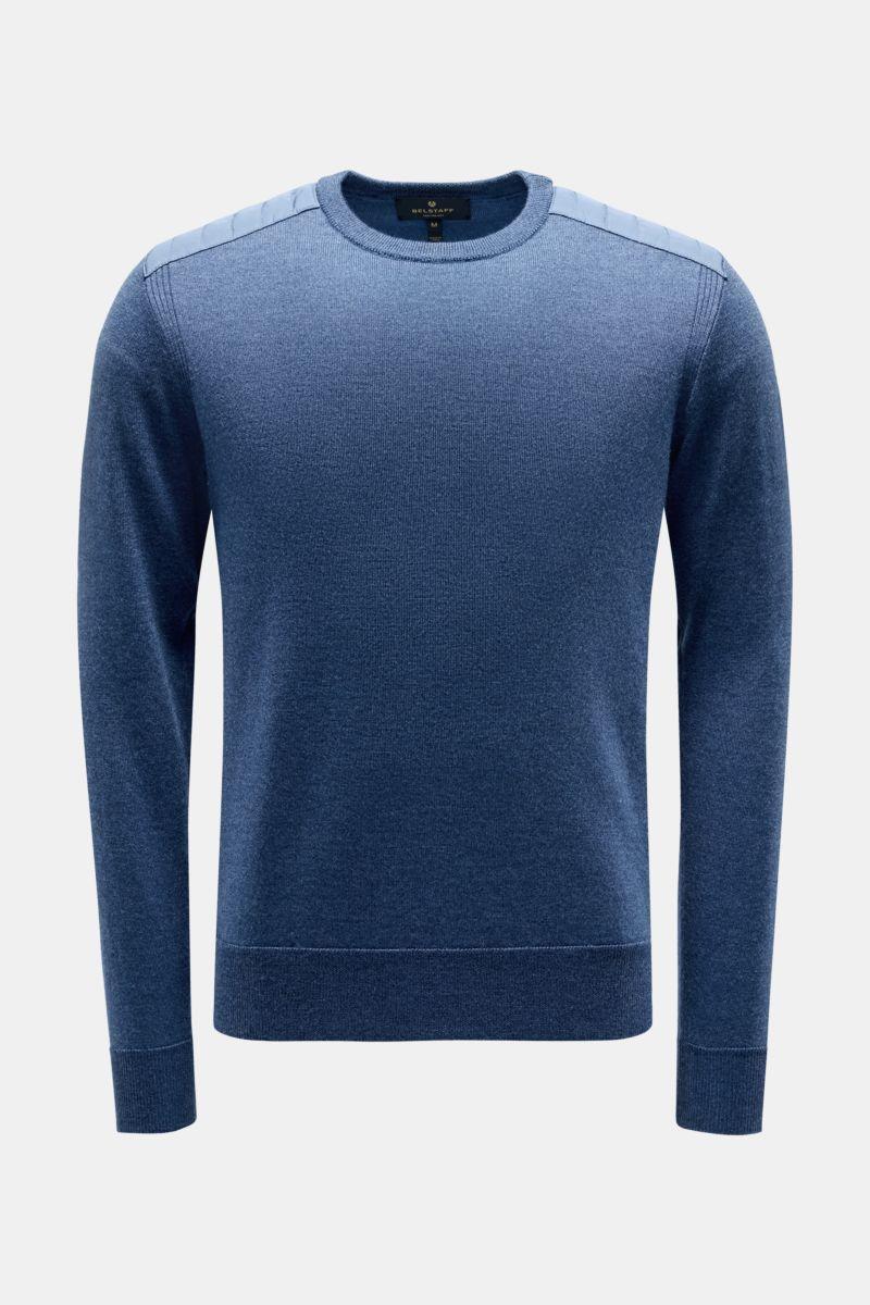 Rundhals-Pullover 'Kerrigan' graublau