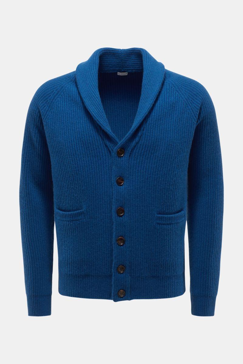 Cashmere Cardigan blau