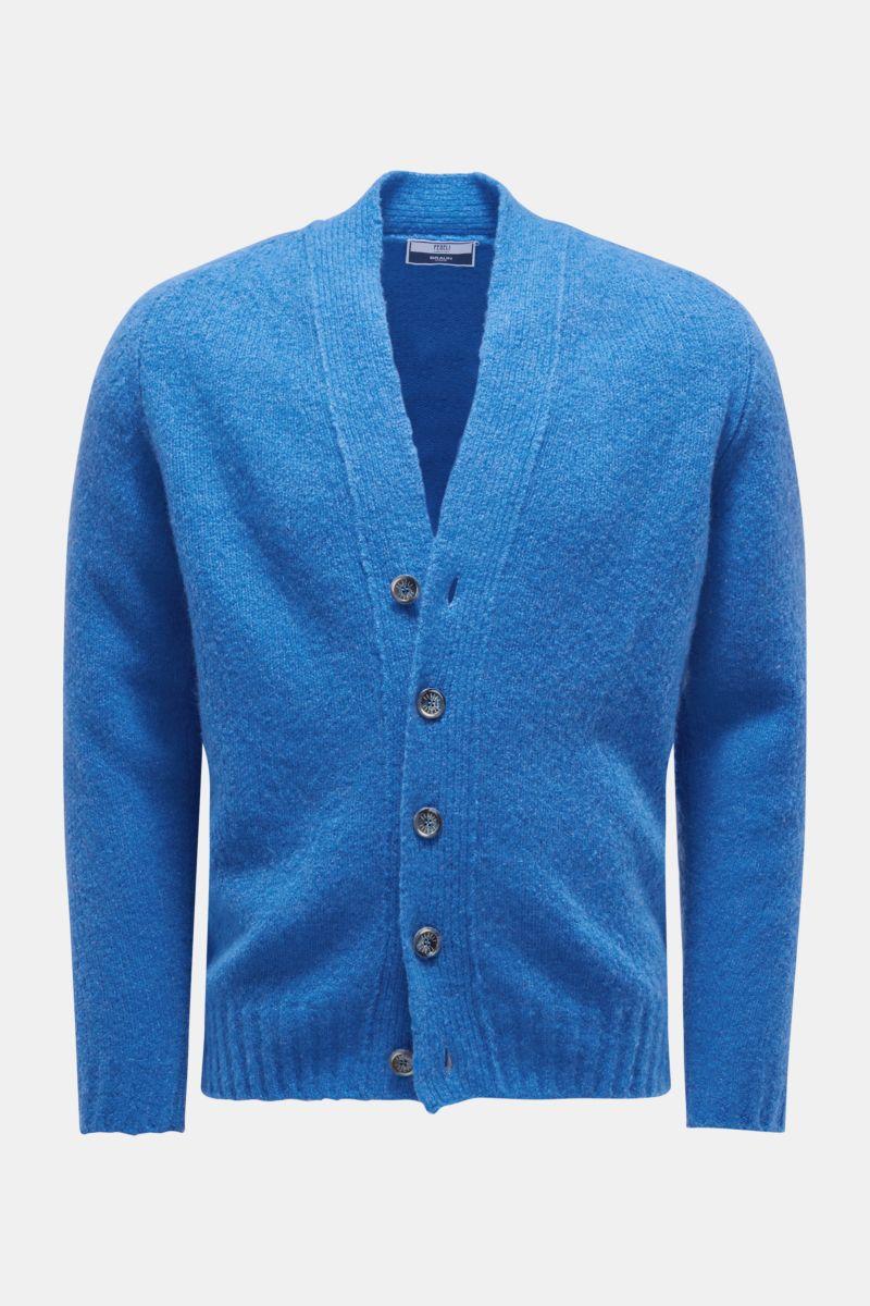 Cardigan 'Saddler' blau