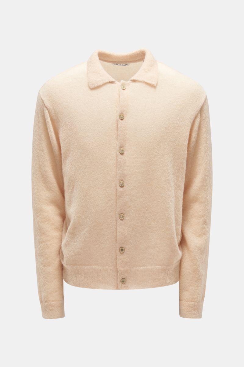 Cardigan 'Evening Polo' beige