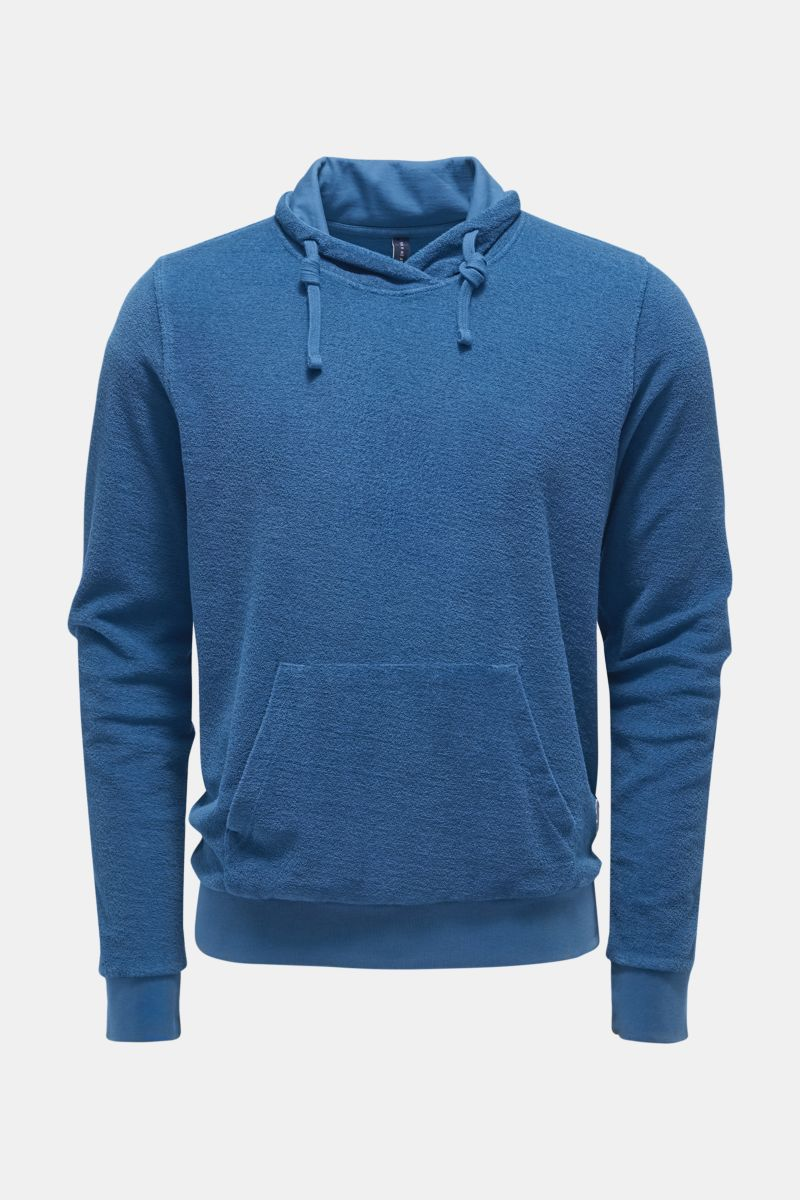 Frottee-Pullover 'Terry Turtle' rauchblau