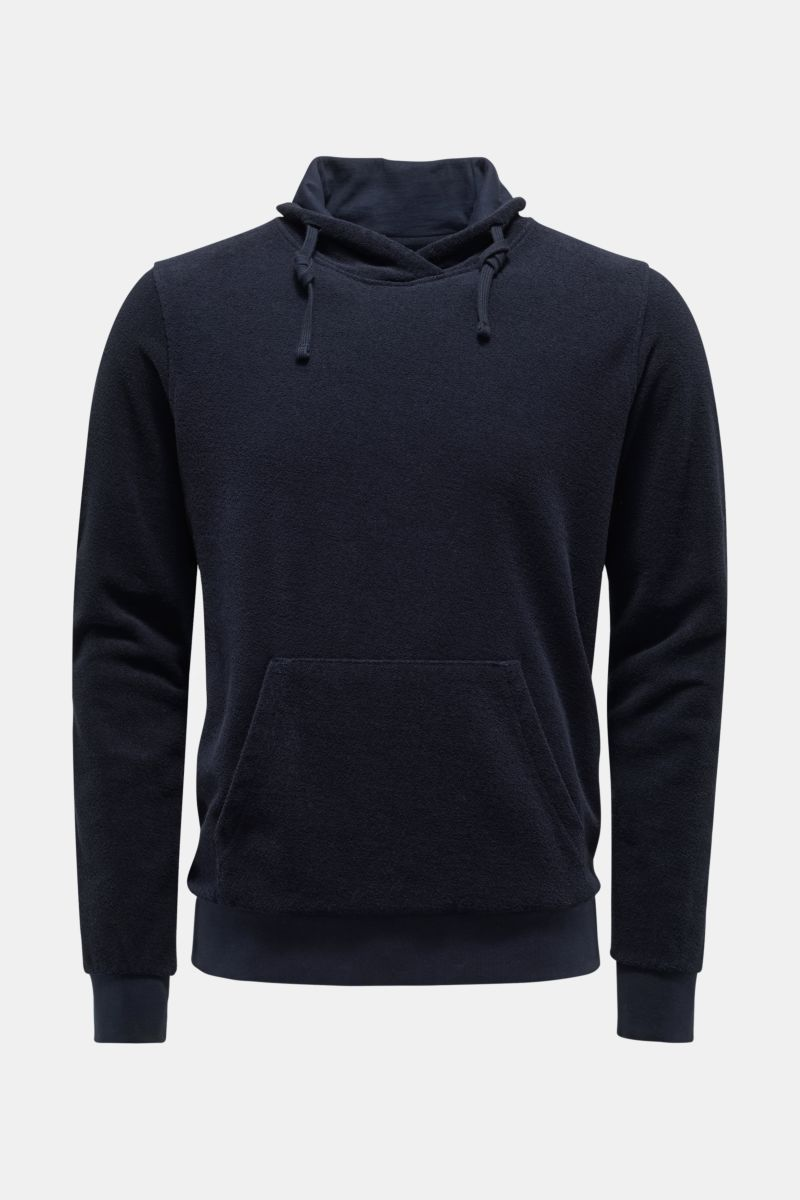 Frottee-Pullover 'Terry Turtle' navy