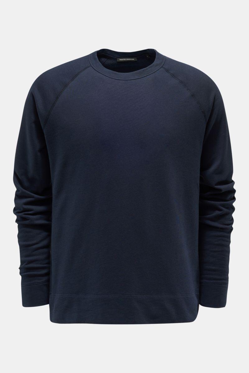Rundhals-Sweatshirt navy