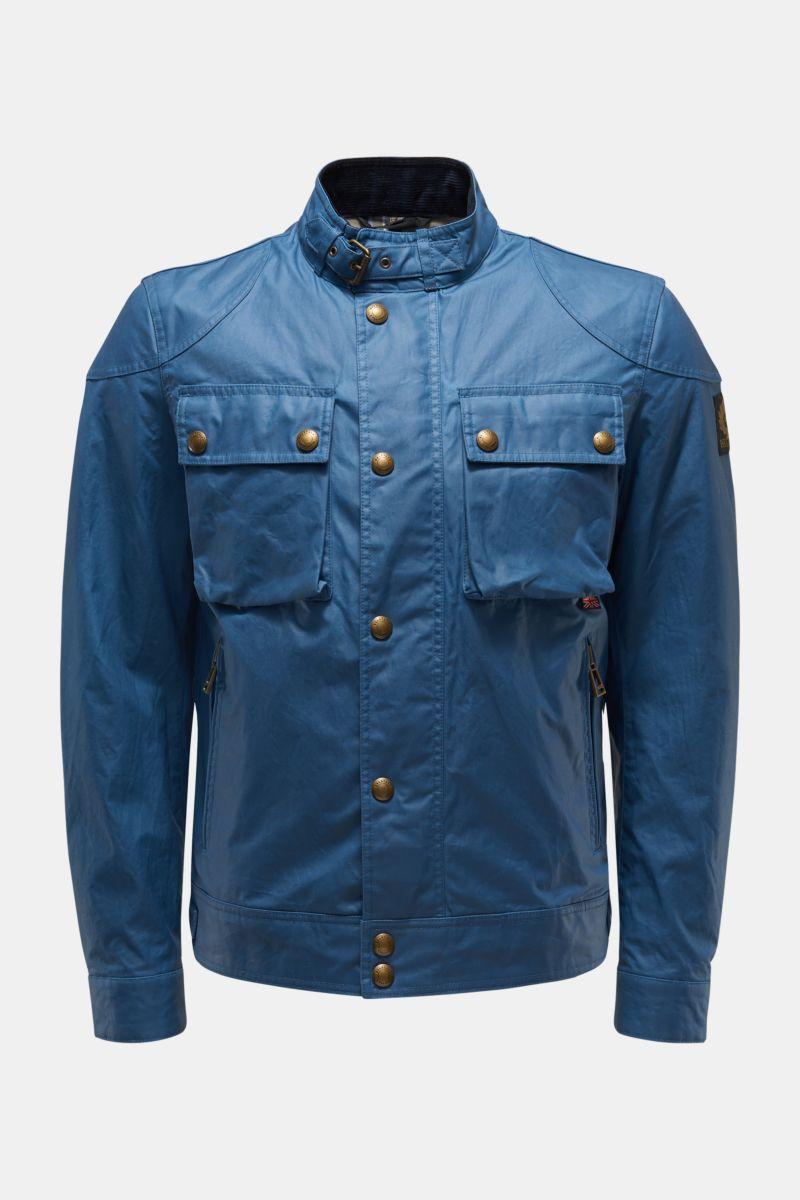 Wachsjacke 'Racemaster' blau