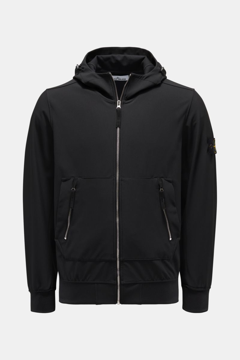 Softshell-Blouson 'Light Soft Shell-R' schwarz