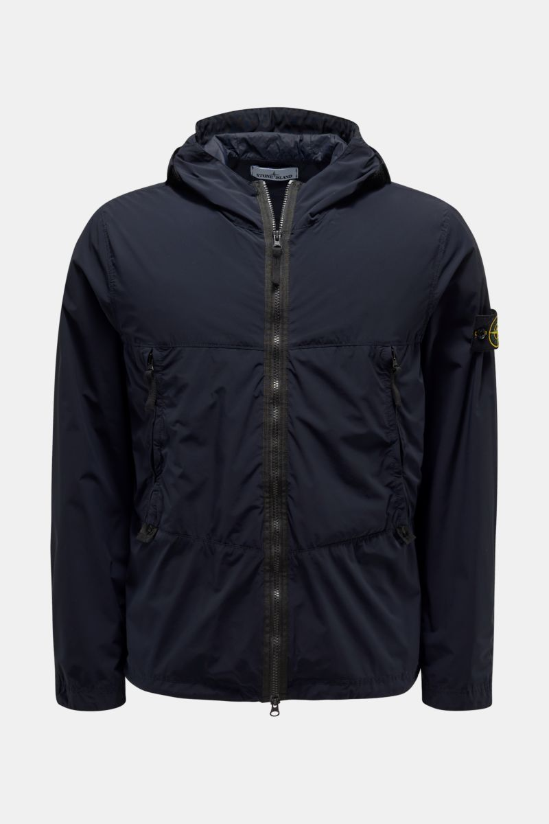 Jacke 'Skin Touch Nylon-TC' navy