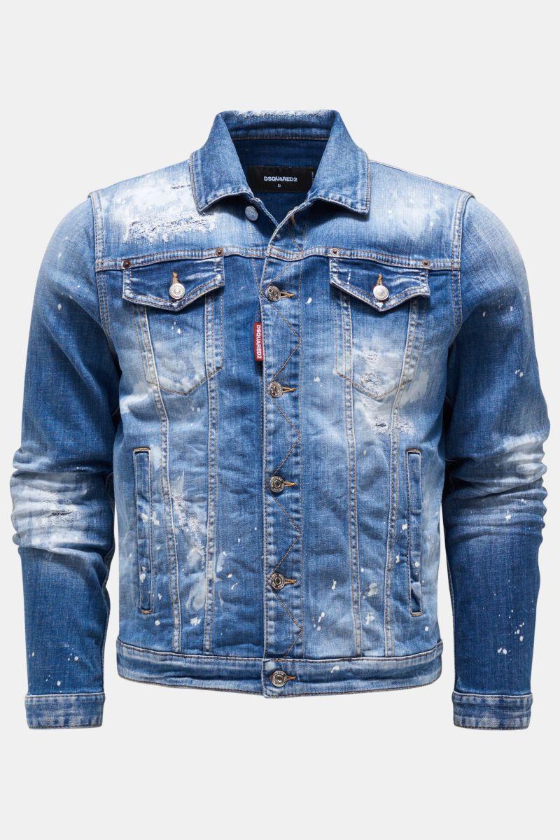 Jeansjacke graublau