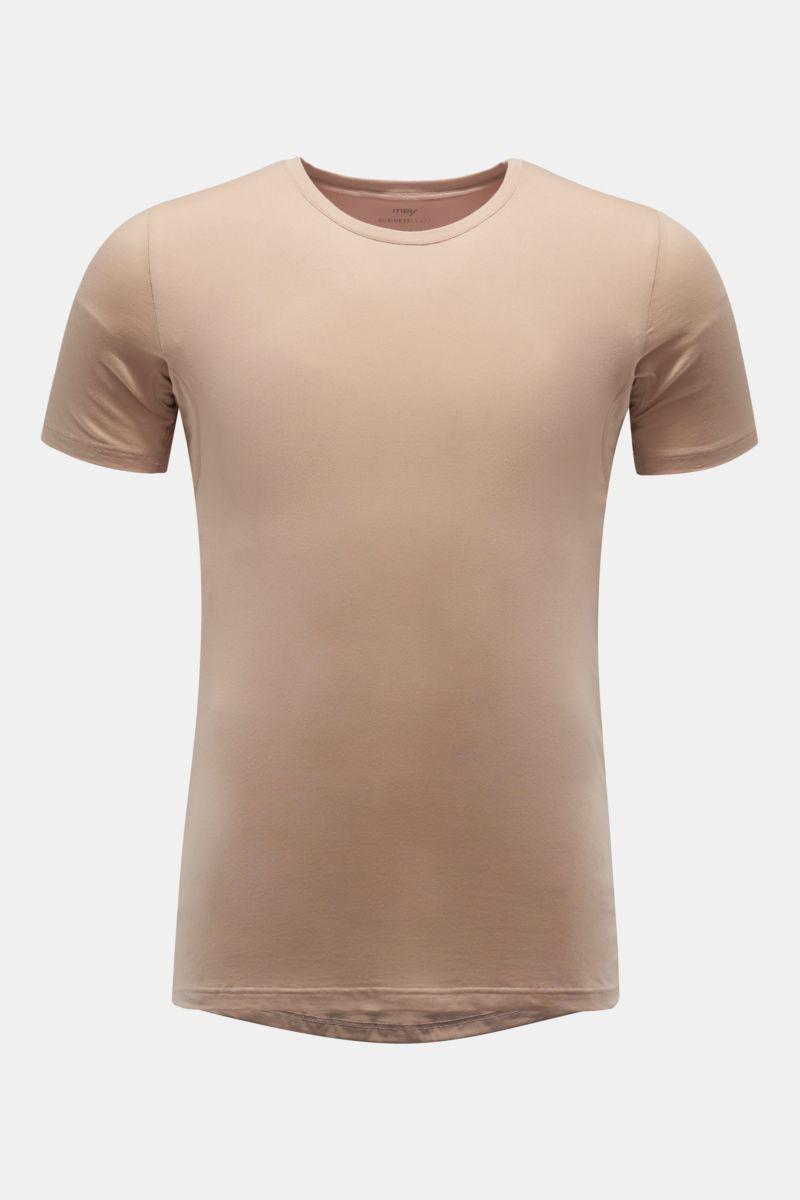 Rundhals-Unterhemd nude