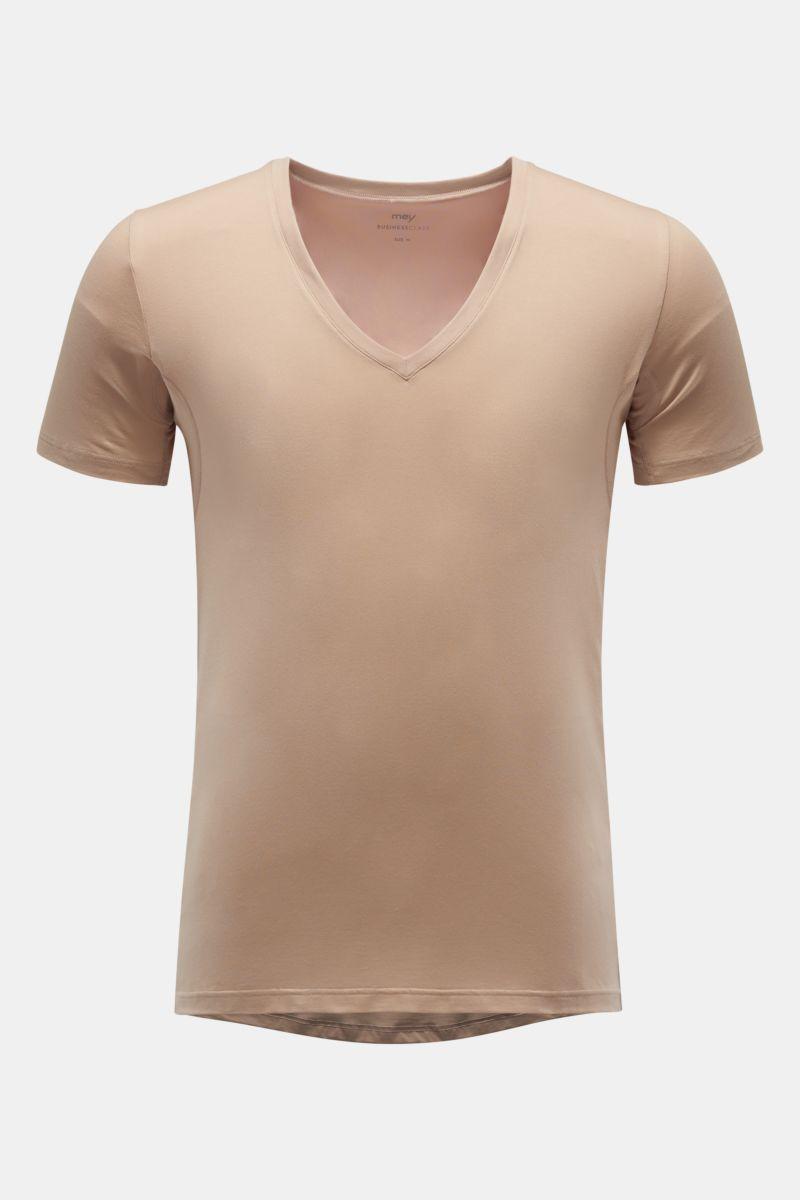 V-Neck Unterhemd nude