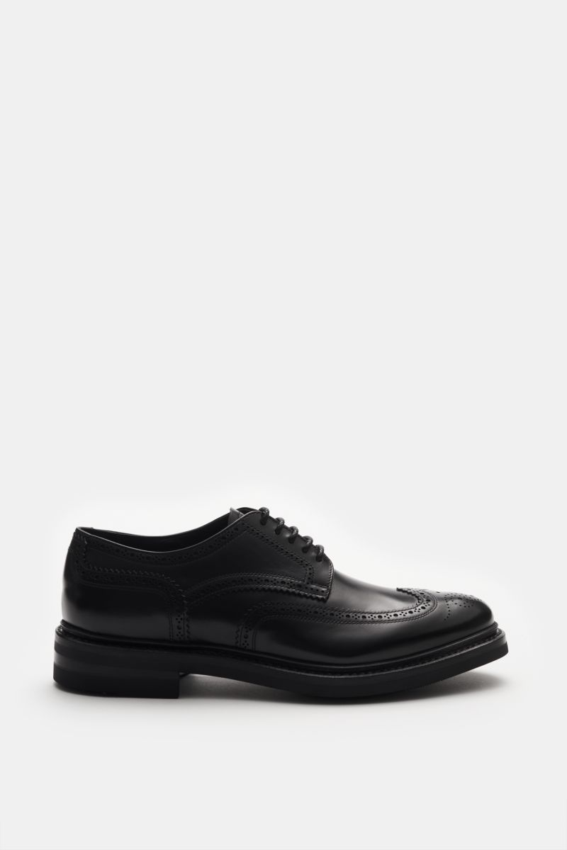 Fullbrogue 'Flex Goodyear' schwarz