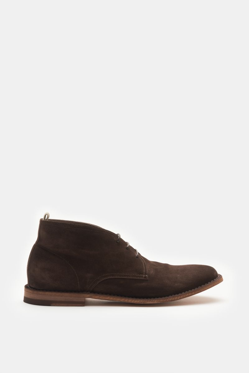 Desert Boot 'Steple 14' dunkelbraun