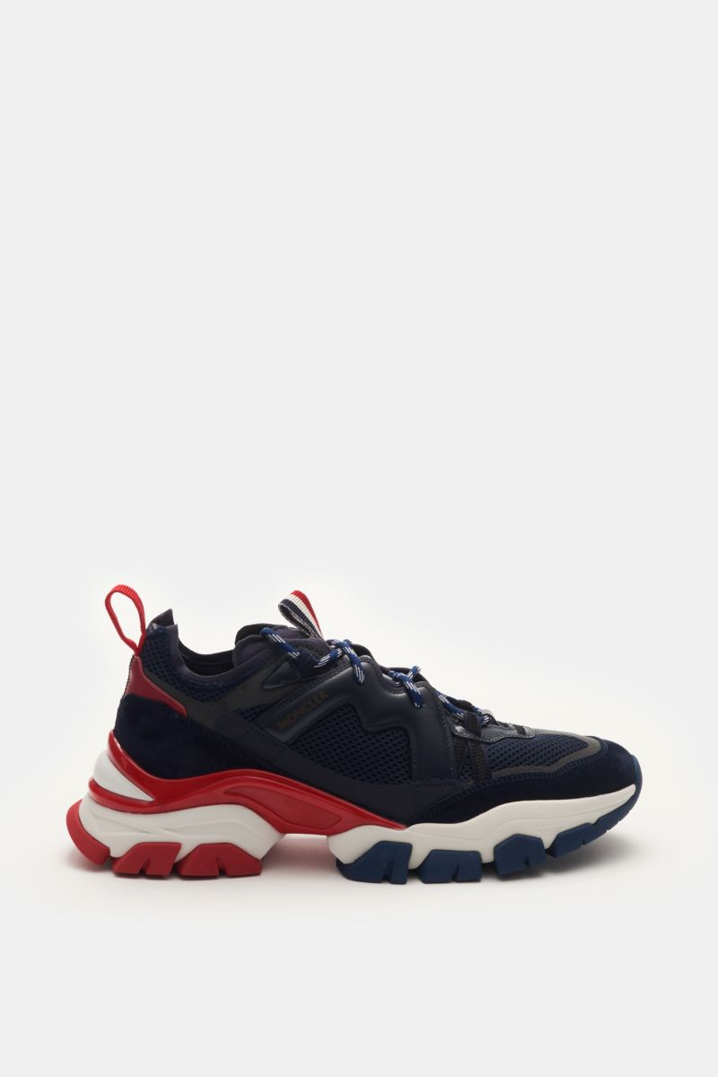 Sneaker 'Leave No Trace' navy/rot