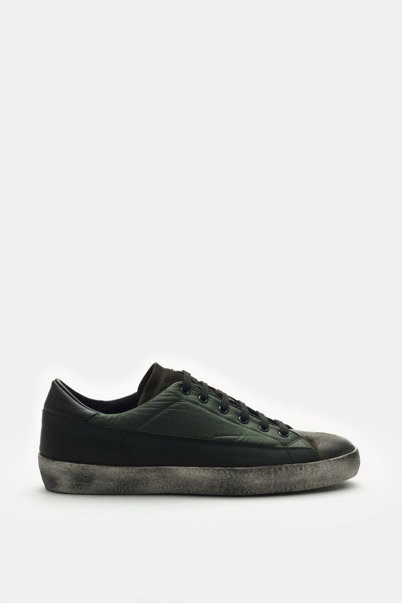 Sneaker oliv/schwarz