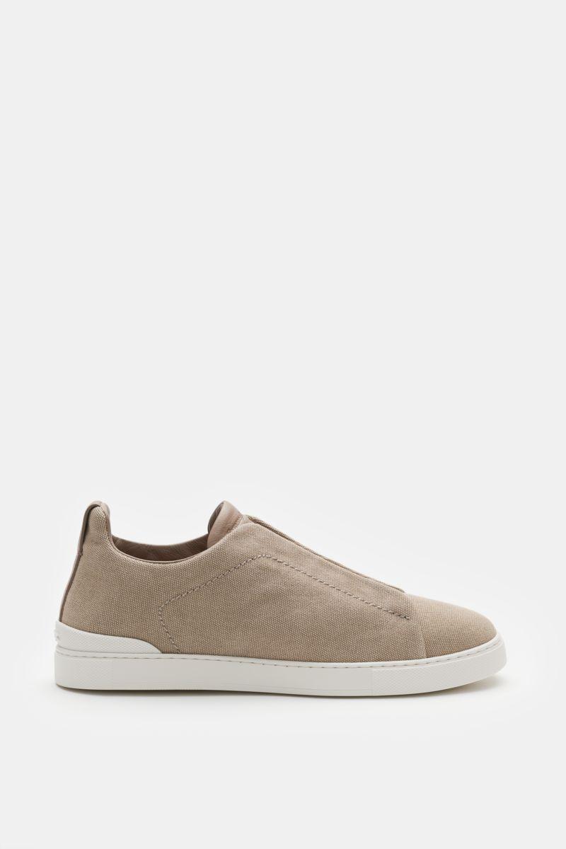 Slip-on-Sneaker 'Triple Stitch' beige