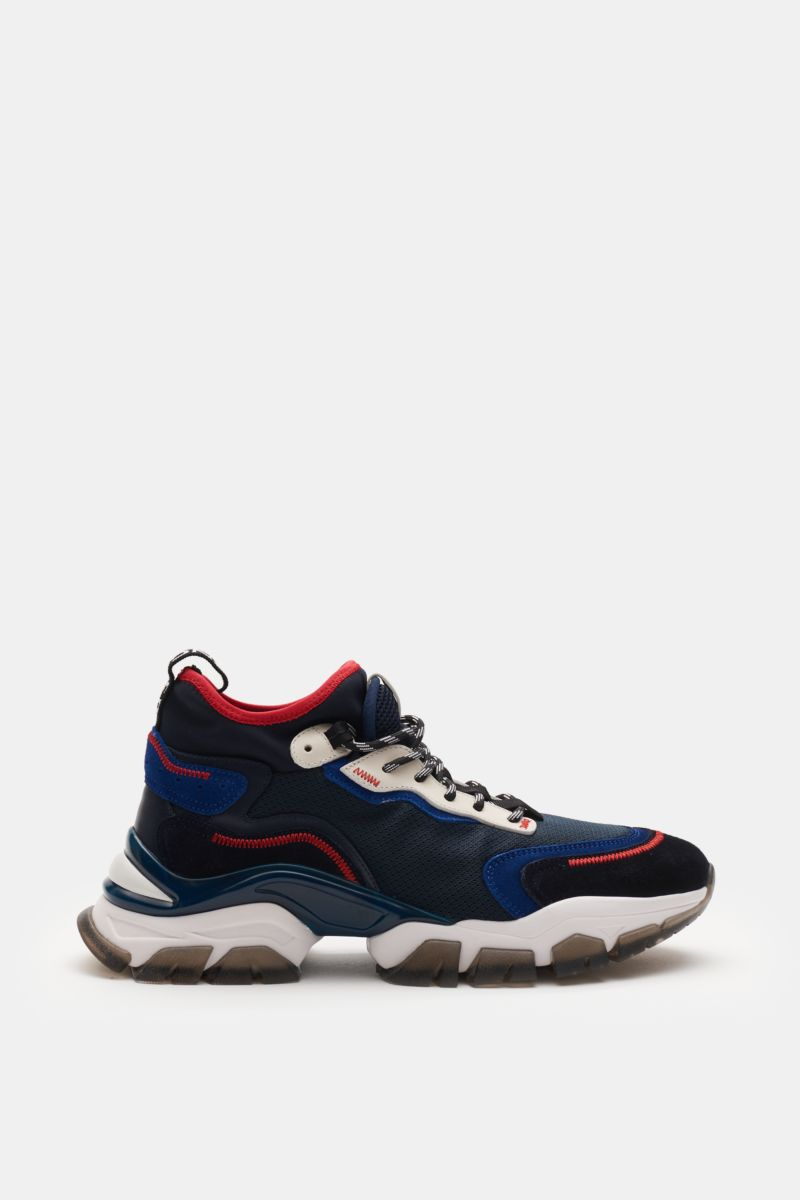 Sneaker 'Leave No Trace Mid' navy/rot