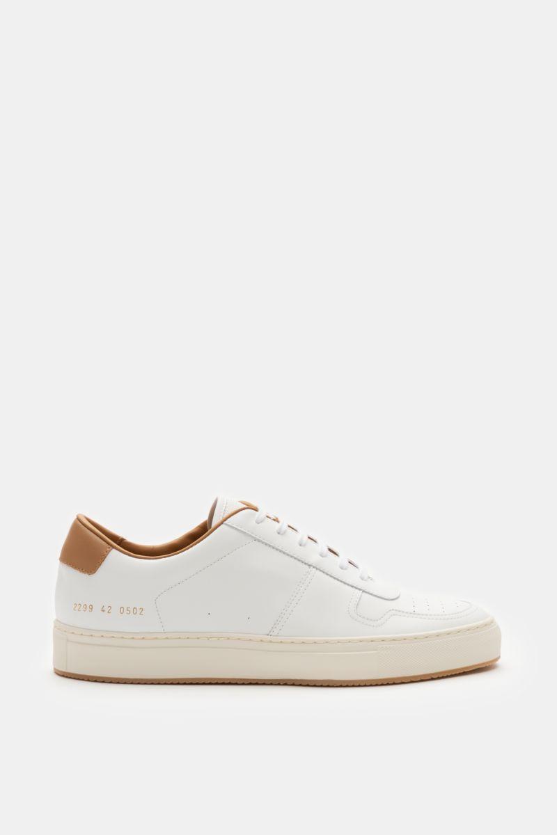 Sneaker 'BBall '90' weiß/hellbraun