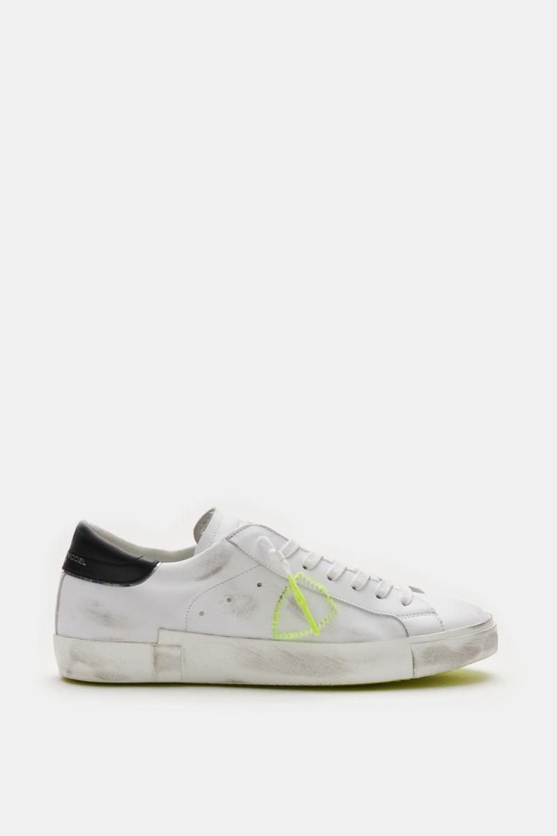 Sneaker 'Prsx Broderie Neon' weiß