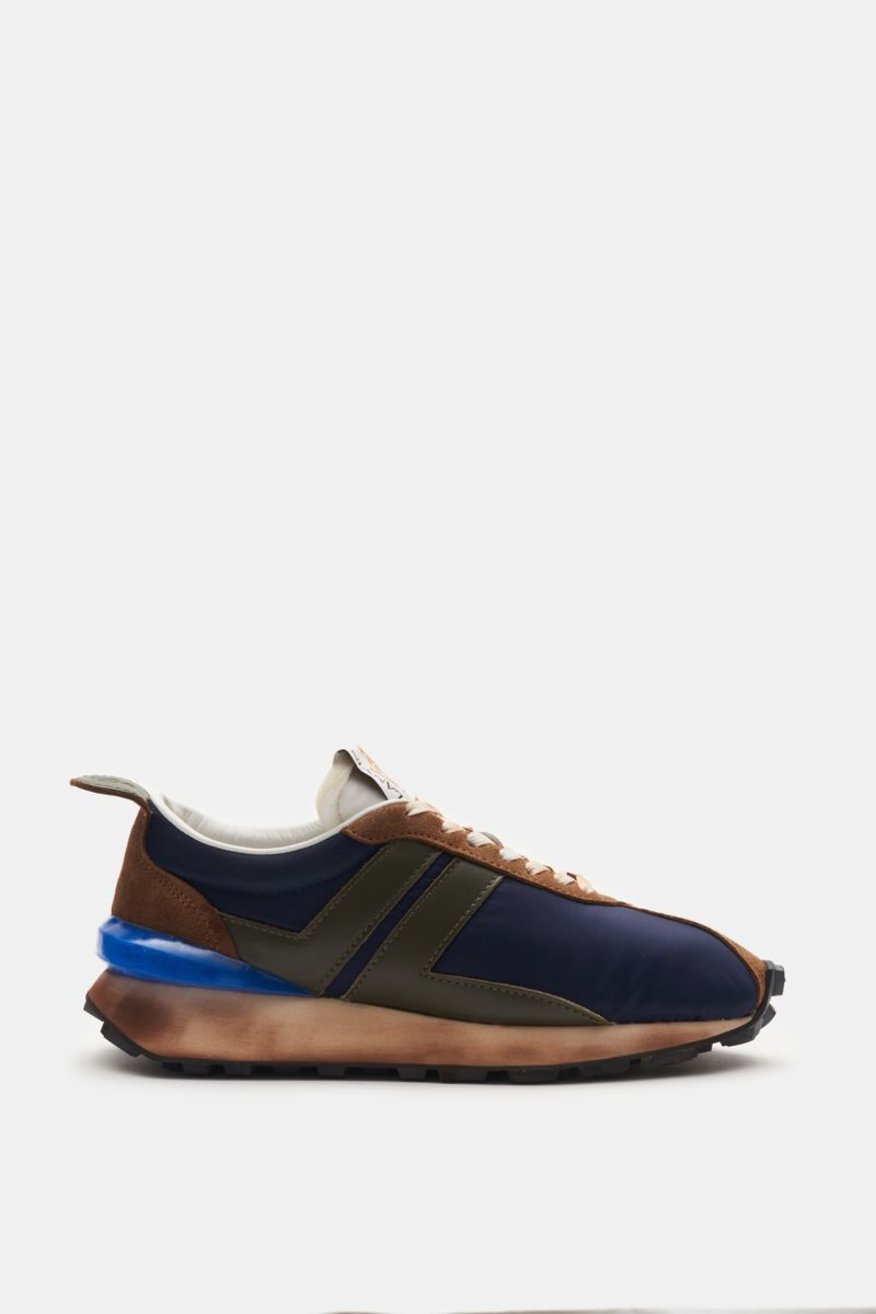 Sneaker 'Bumpr' navy/braun