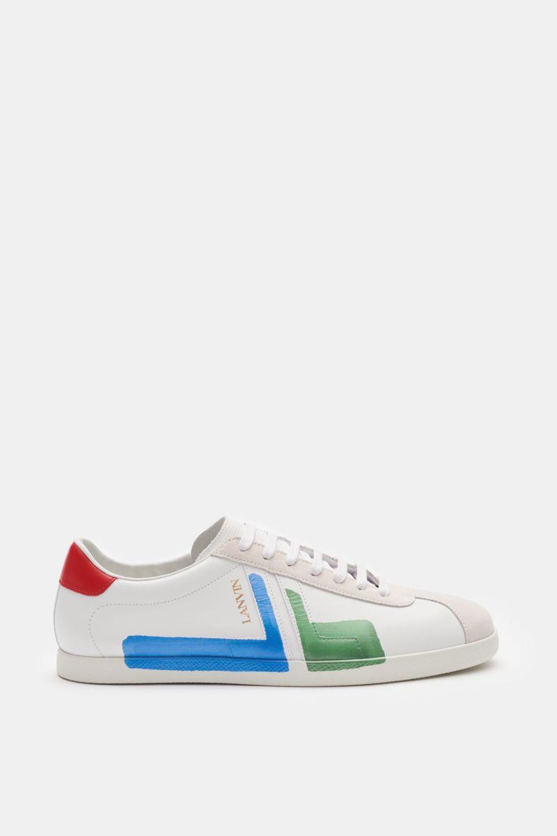 Sneaker 'Glen' weiß/blau
