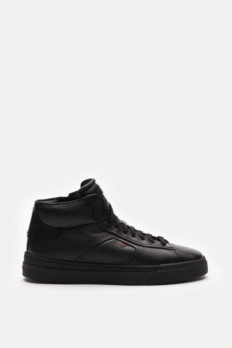 High Top Sneaker schwarz