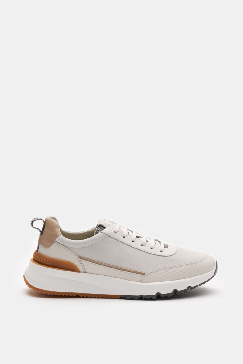 Sneakers off-white/beige
