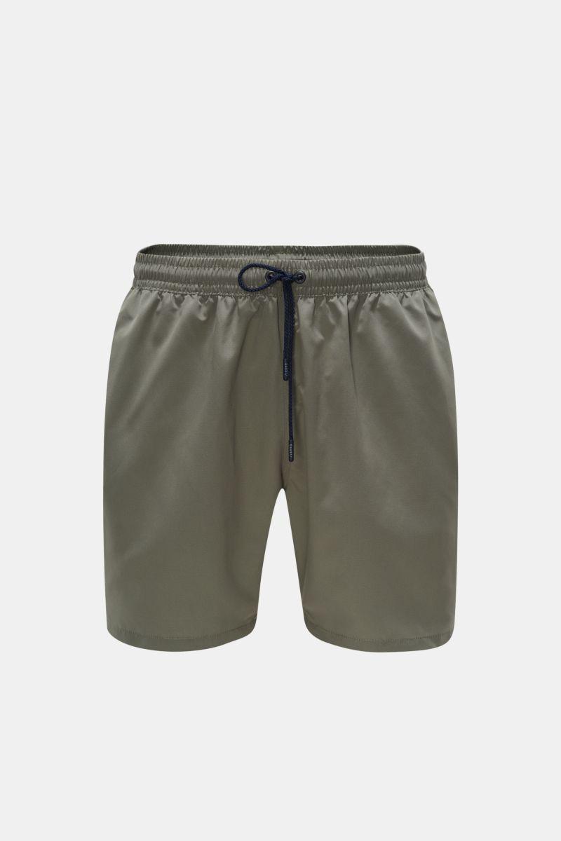 Swim shorts olive