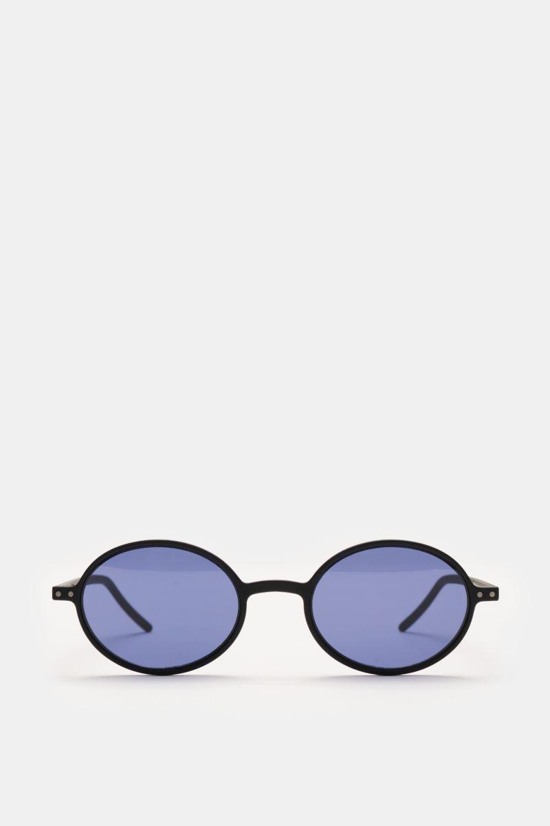 Sonnenbrille 'Slim Sun' schwarz/dunkelblau