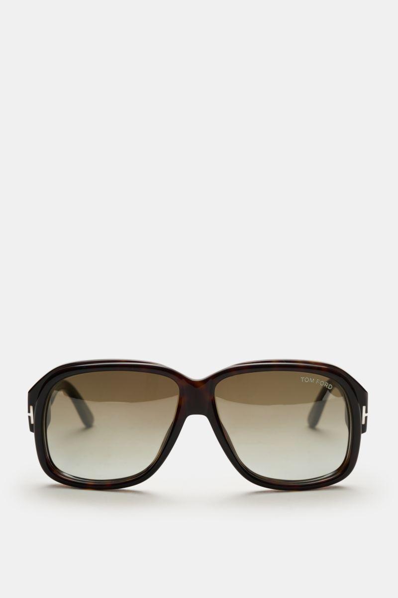 Sonnenbrille 'Lyle' dunkelbraun/oliv
