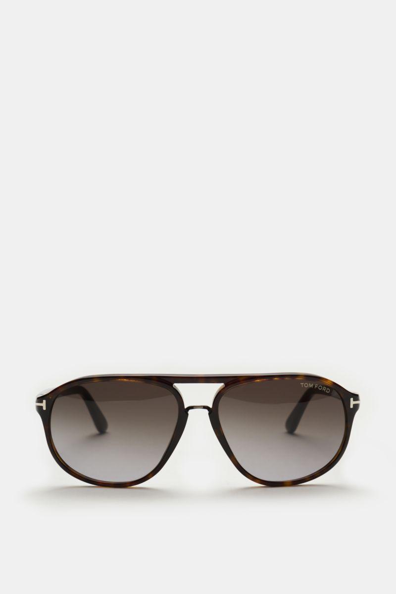 Sonnenbrille 'Jacob' dunkelbraun/anthrazit