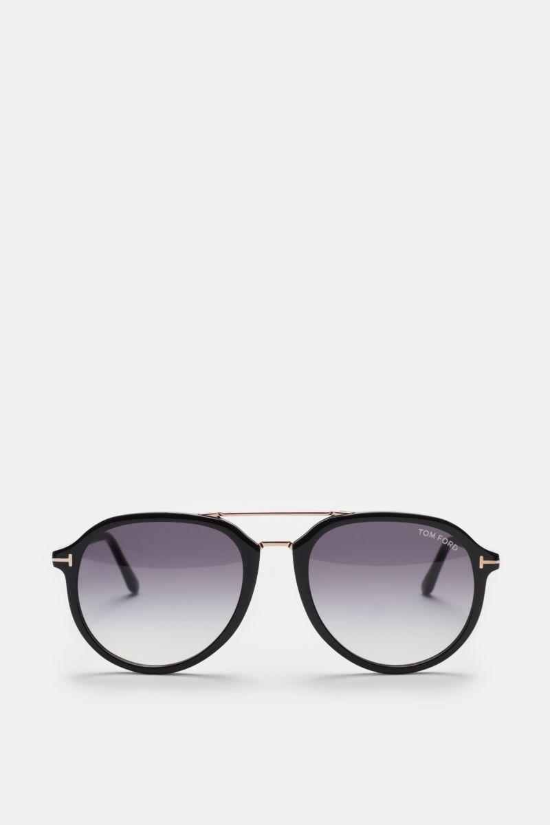 Sonnenbrille 'Rupert' schwarz/grau