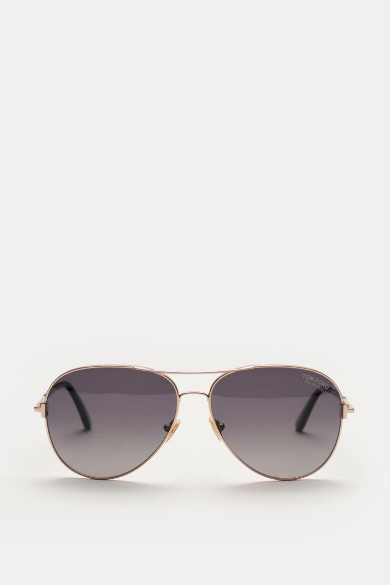 Sonnenbrille 'Clark' roségold/grau